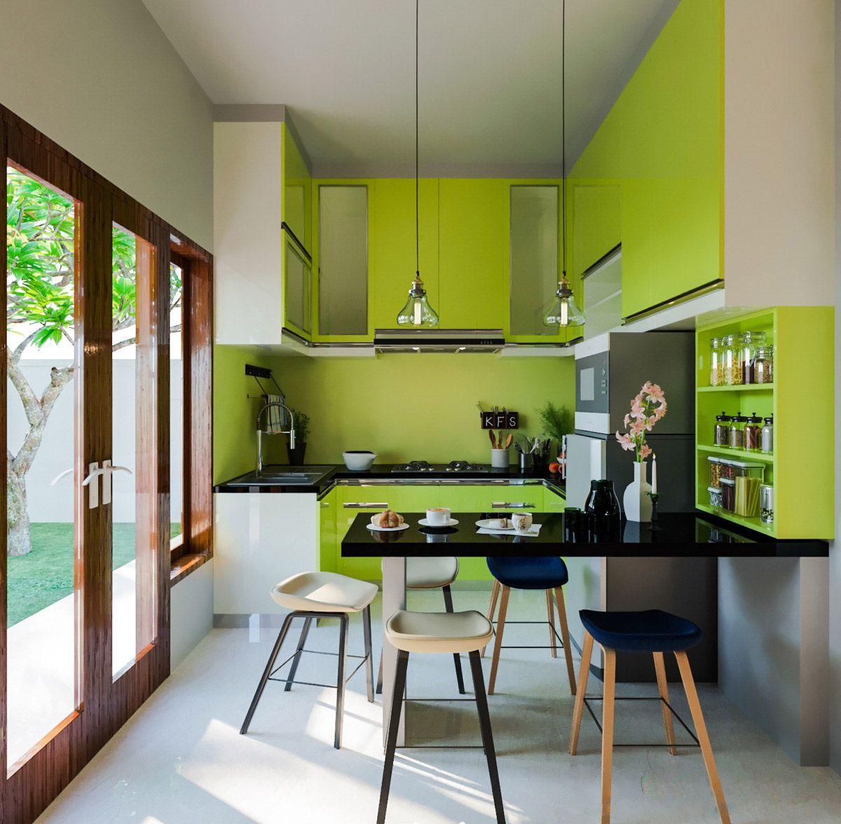 Grünes esszimmer design  wunderschöne grüne küchen und möglichkeiten sie zu ergänzen in