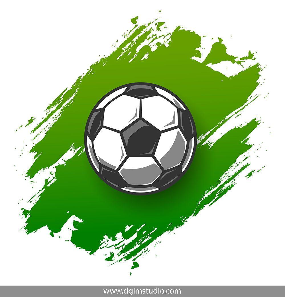 Soccer Elements Set Sports Graphic Design Soccer Design Your Own Poster