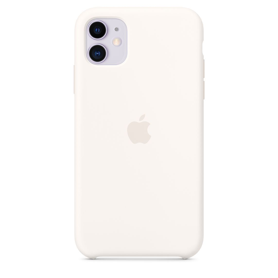 Iphone 11 Silicone Case Soft White With Images