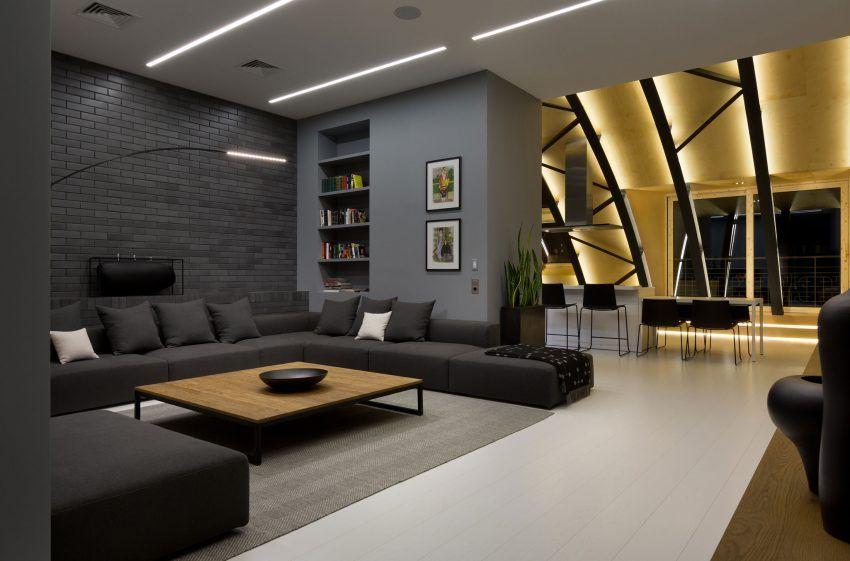 Alex Obraztsov Designs a Stylish Loft in Kiev Ukraine High Lounge