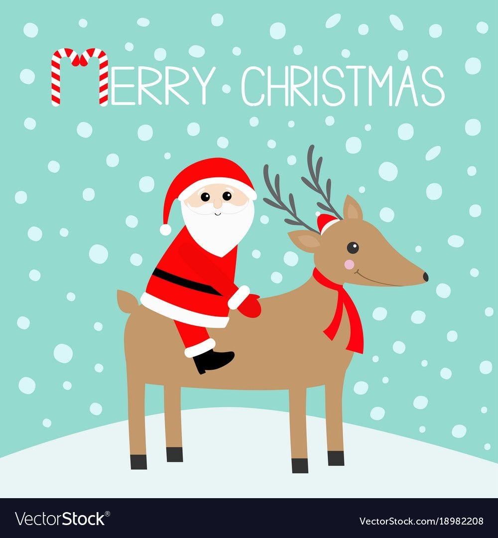 Merry Christmas Happy Holidays Funny Santa Claus Lying