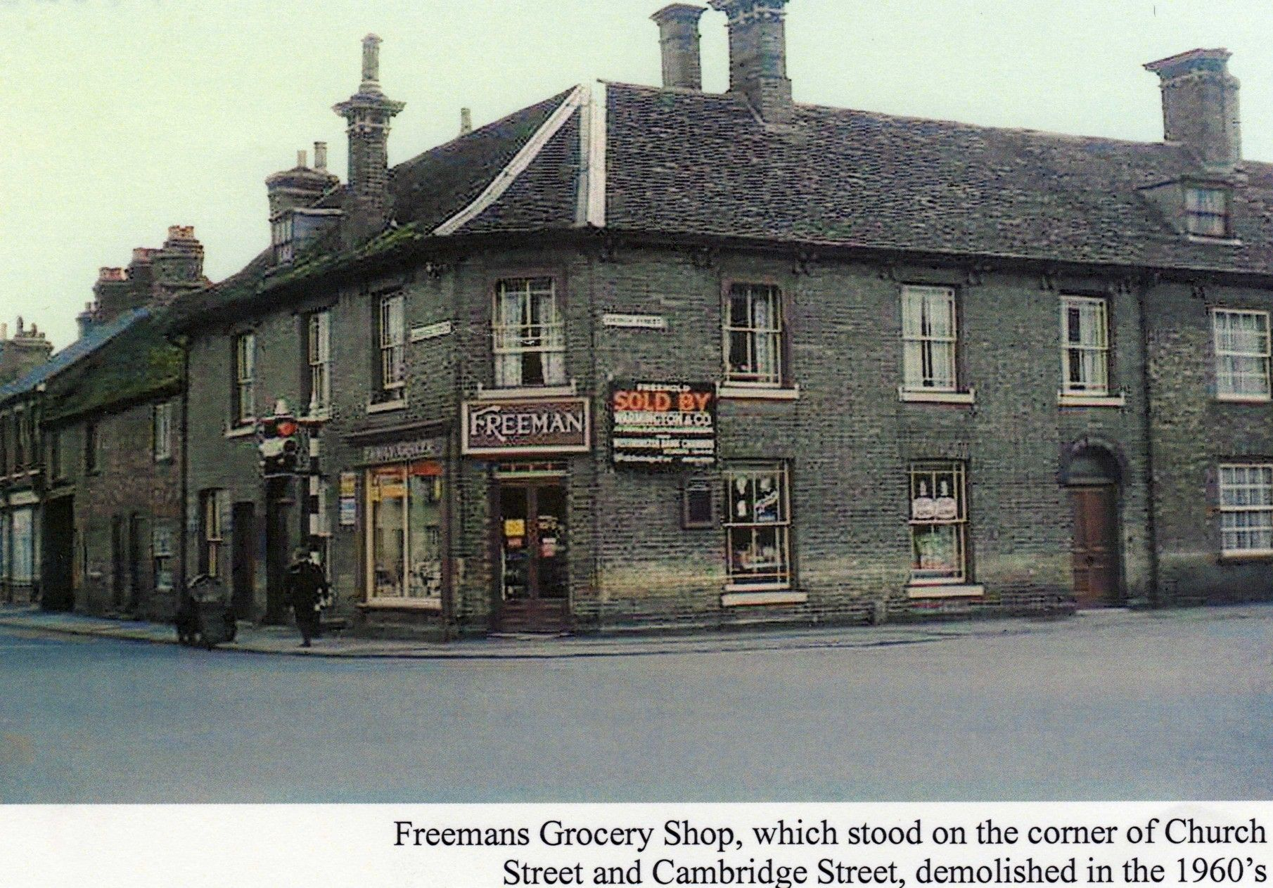Freemans Grocers Shop On The Cambridge Street Church Street