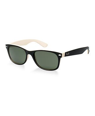Ray-Ban Sunglasses, RB2132 55 NEW WAYFARER - Sunglasses by Sunglass Hut - Handbags & Accessories - Macy's