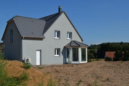 Une réalisation de maison neuve contemporaine, constructeur de