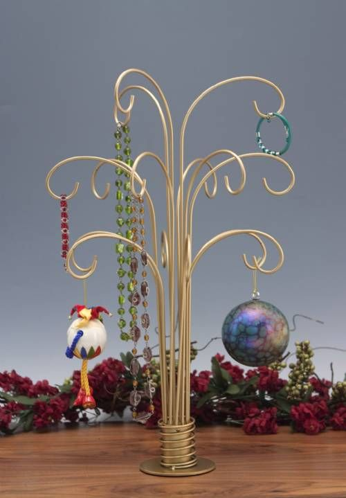 Ornament Trees - Fountain Style...Perfect for Christmas ornaments, or any time of year with your favorite collectible ornaments!