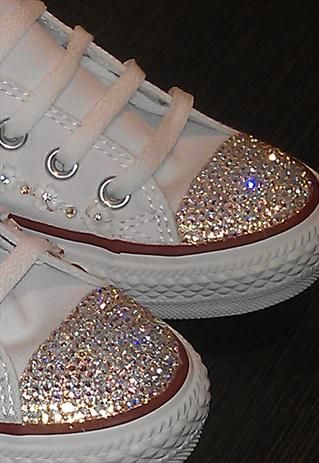 8123dd3090f6a Our Swarovski Converse Bling Kits supply your with everything you need to  BLING your Converse including