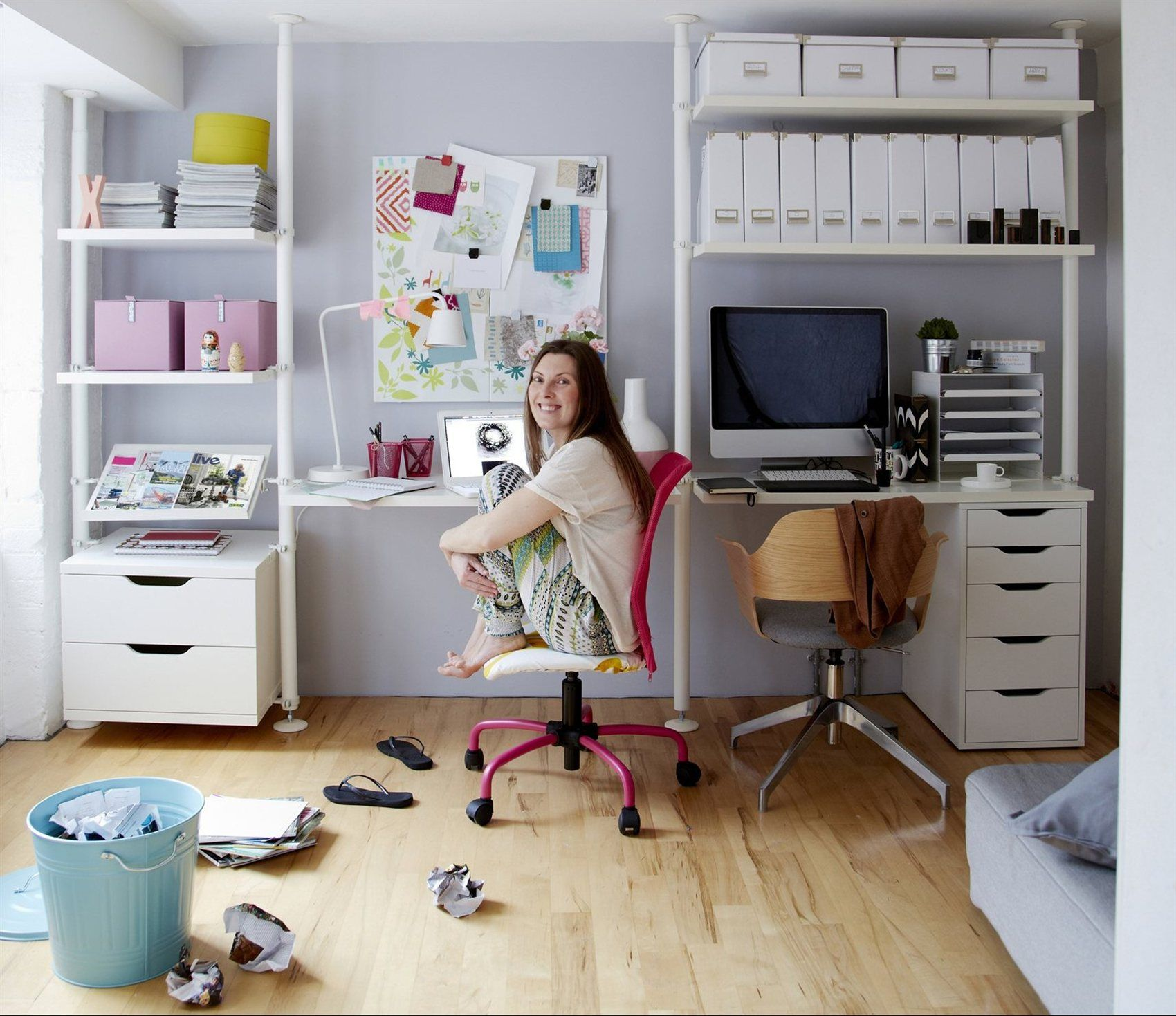 Ideas para una oficina inspiradora en casa decoraci n for Videos porno gratis oficina