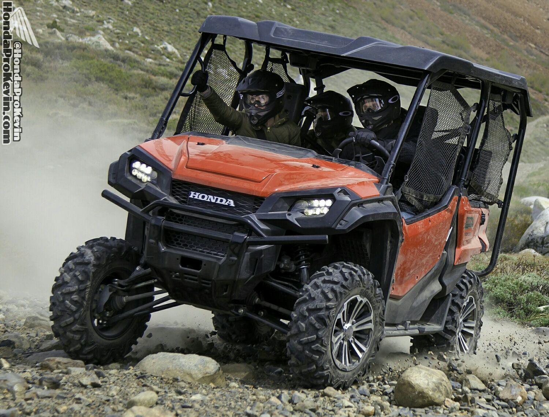 2016 honda pioneer 1000 5 sxs engine frame suspension interior pictures