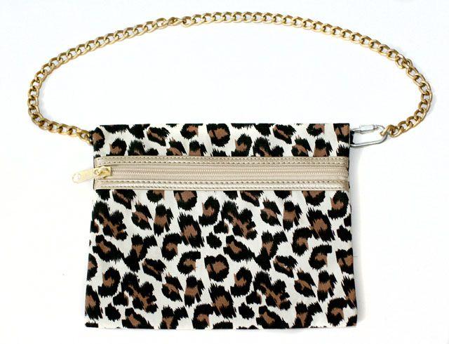 Diane von Furstenberg-inspired waist bag