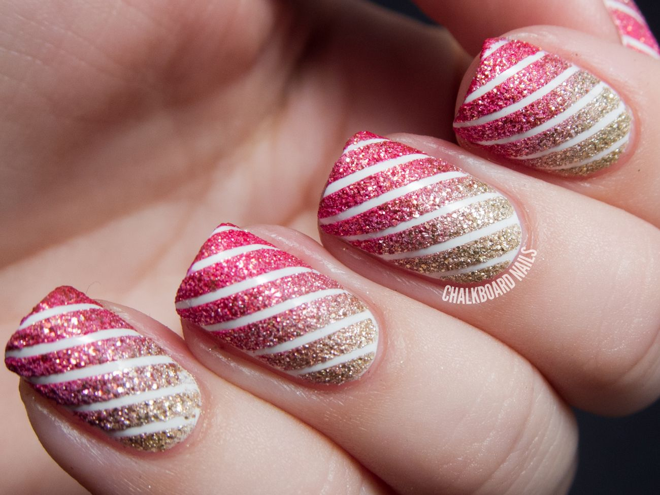 Blogging for a Cause: Chalkboard Nails for Polished Girlz : work / play / polish