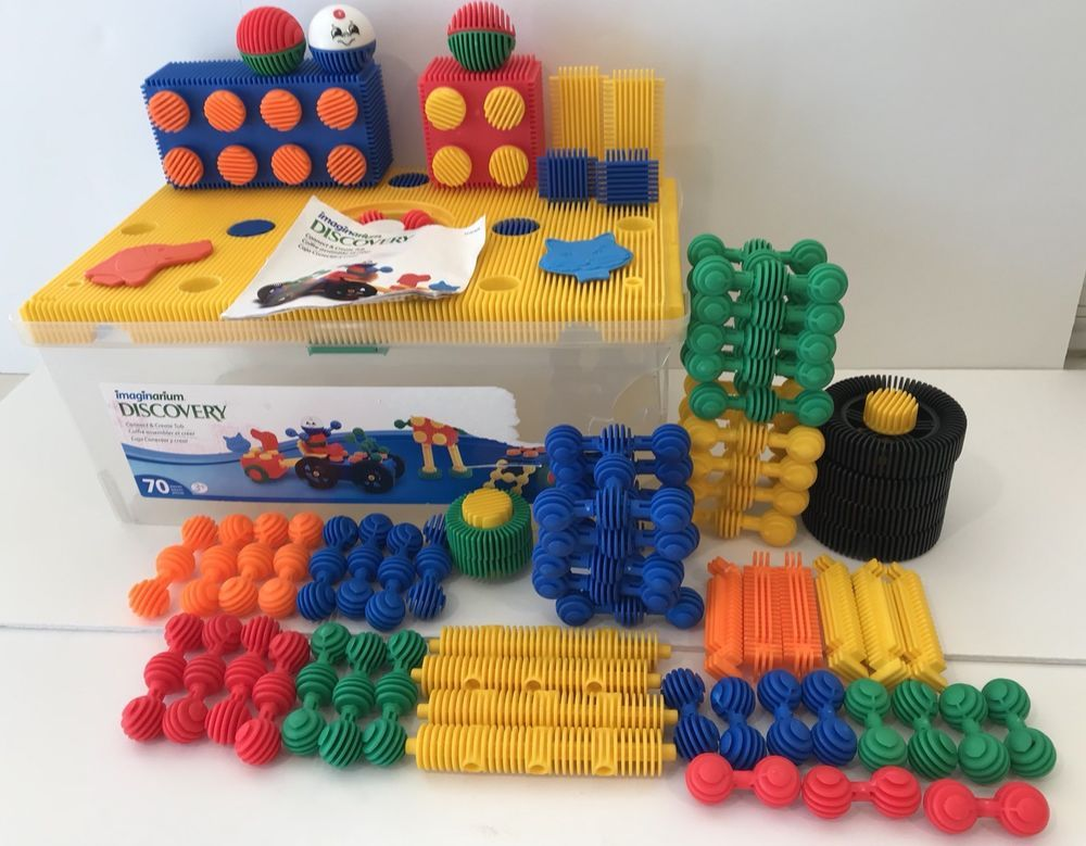 Includes Wheels Heads And Connectors Ready For Play