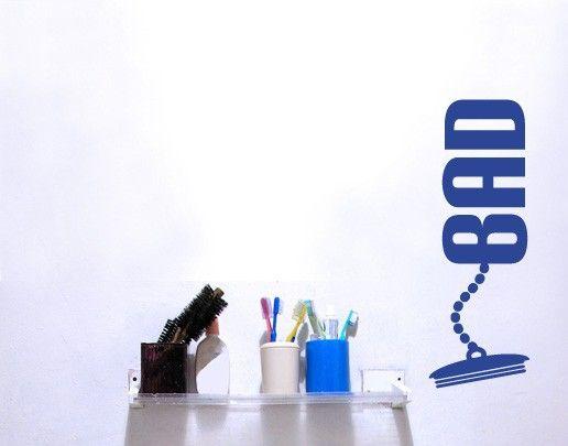 Wandtattoo Sprüche - Wandworte NoUL16 #Bad #Bad #Ideen - wandtattoos für badezimmer