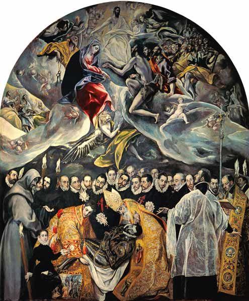 Enterrement Du Comte D Orgaz : enterrement, comte, orgaz