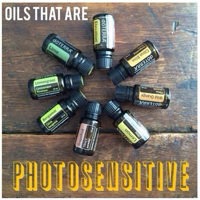 Be sun safe when using these EO #doTERRA