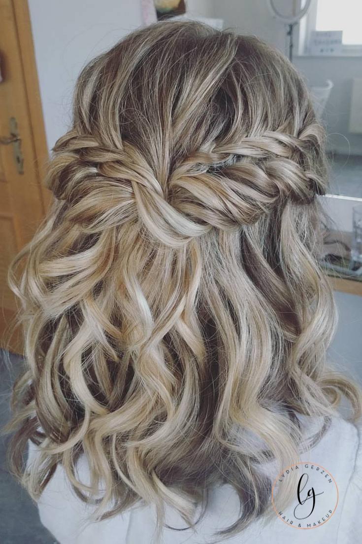 Videotutorial Halboffene Locken In 2020 Locken Machen Hochzeitsfrisuren Lange Haare Frisur Standesamt