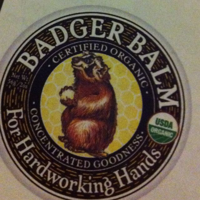 You can't beat a bit of badger balm