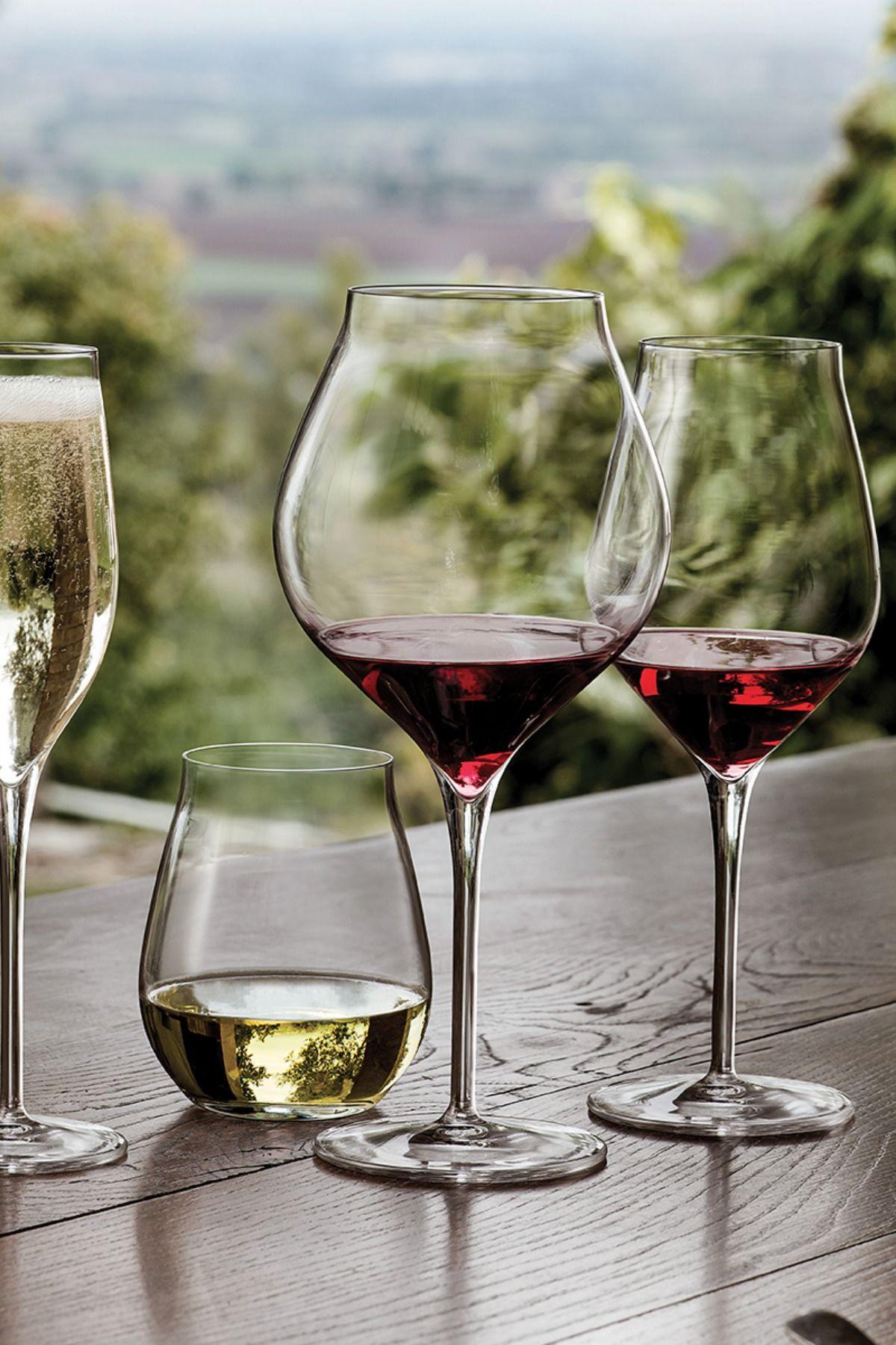 bruno evrard verre a vin rouge