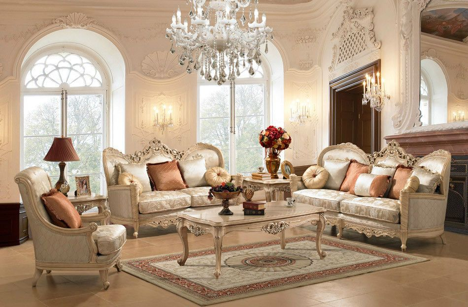 Traditional Style Formal Luxury Sofa Formal Living Room Sets Elegant Living Room Furniture Formal Living Room Furniture