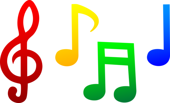Colorful Musical Notes Free Clip Art Music Notes Art Music Notes Drawing Music Notes