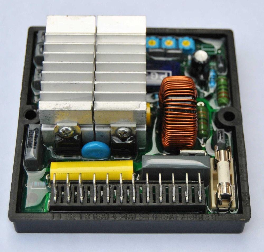 Automatic Voltage Regulator AVR SR7 For Generator SR7-2G ...