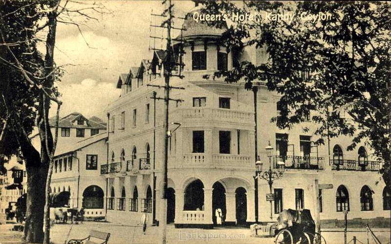 Queens Hotel Kandy Ceylon Queens Hotel Views Historical Photos