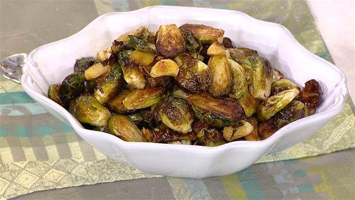 Brussels sprouts - Al Roker's Recipe