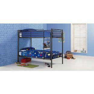 Buy Samuel Single Bunk Bed Frame - Black at Argos.co.uk - Your Online Shop for Children's beds, Children's beds.