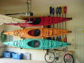 Photo of Canoe Storage In Garage – Listitdallas