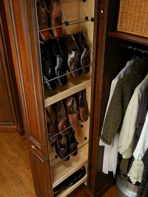 Excellent way to store shoes