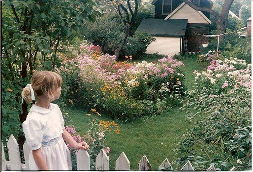 My Grandmother S Garden Her Pride And Joy Garden Inspiration