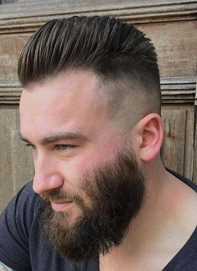 17++ Slick hair and beard inspirations