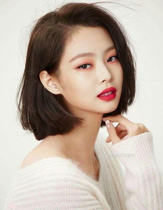 Jennie Pics on in 2020 | Kpop short hair, Ulzzang short ...