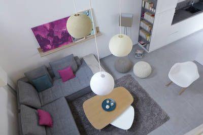 miniature BLEU CIEL & ROSE PIVOINE  Une maison familiale contemporaine & raffinée, Lyon, Skéa - architecte d'intérieur