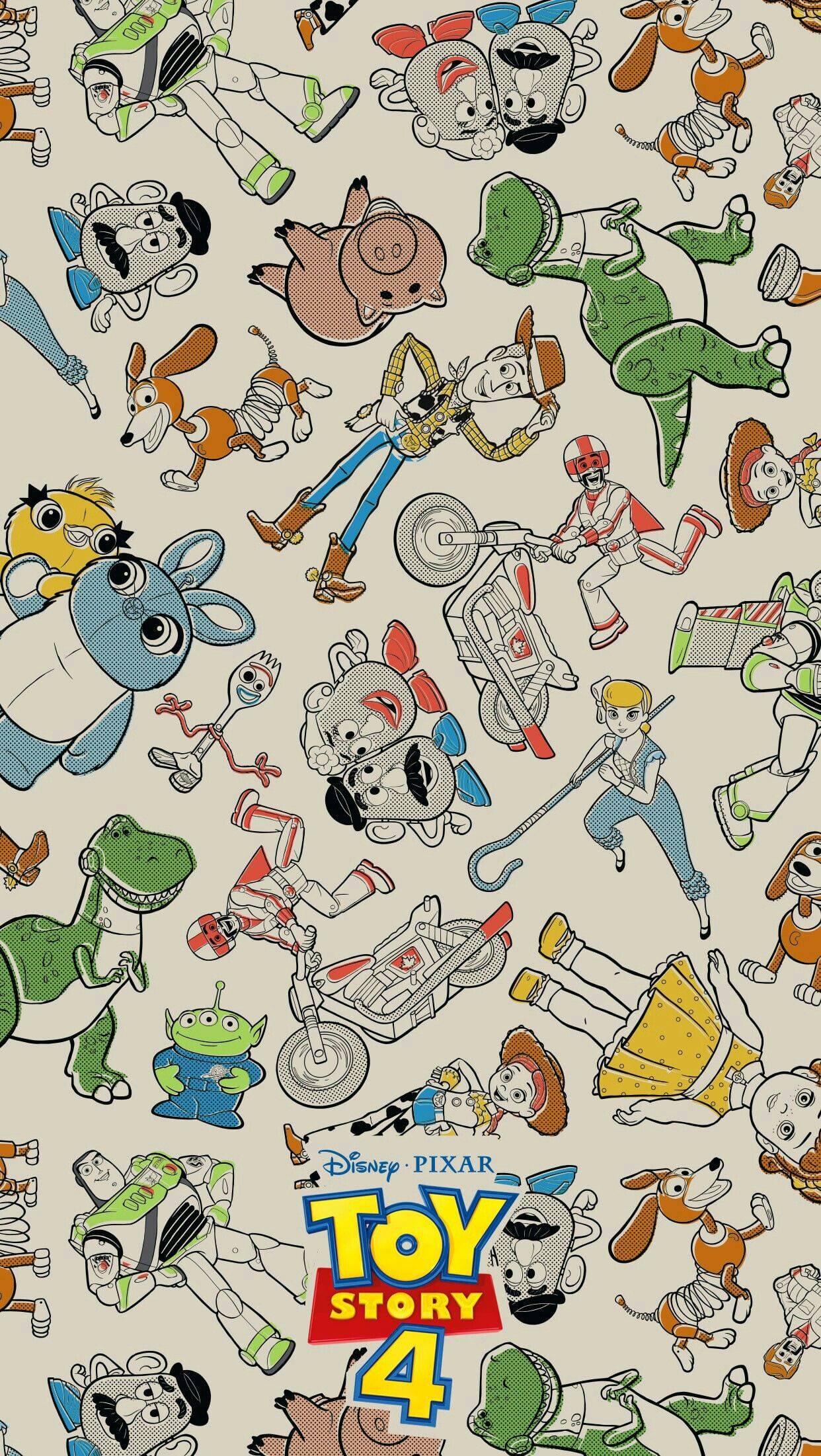 Toy Story 4 In 2019 Wallpaper Iphone Disney Disney Wallpaper