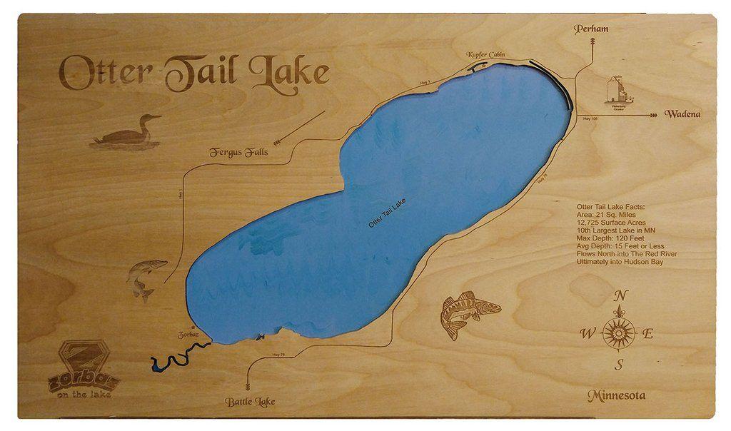 otter tail lake map Pin On Otter Tail Lake Minnesota otter tail lake map