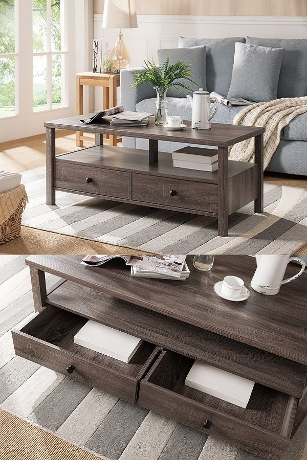 161564ct Coffee Table Smart Home Furniture Modern Drawers