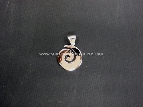 Greek Jewelry Thick Spiral Pendant The Symbol Of Life Symbols