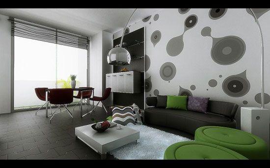 Astonishing Dining Room Interior Design Ideas - moderne kunst wohnzimmer
