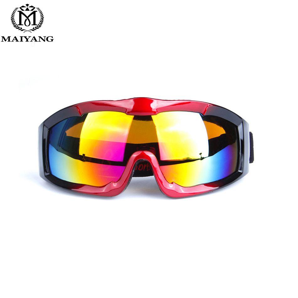 726bd923182f Winter Outdoor Ski Goggles Anti-fog Big Ski Mask Glasses Skiing Men Women  Snow Snowboard