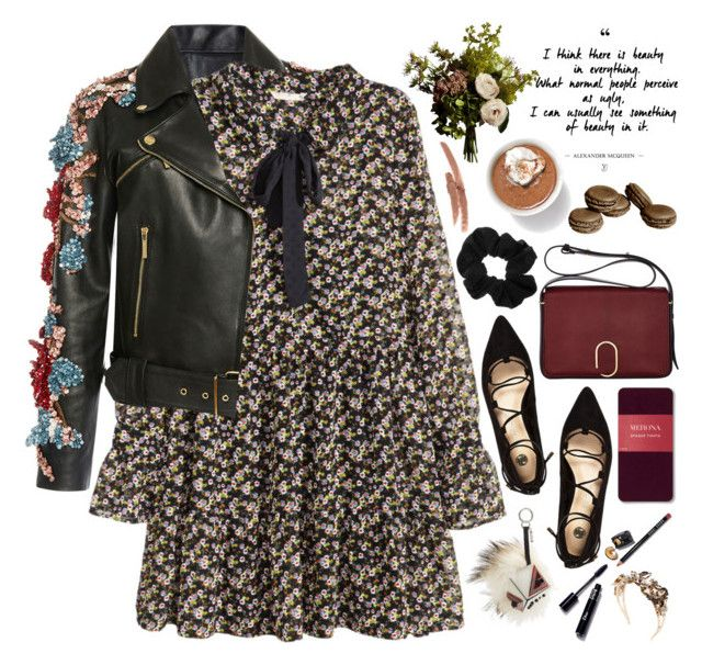 """2410."" by chocolatepumma ❤ liked on Polyvore featuring Elie Saab, H&M, River Island, 3.1 Phillip Lim, Fendi, Abigail Ahern, Merona, Bobbi Brown Cosmetics, Vittorio Ceccoli and NYX"