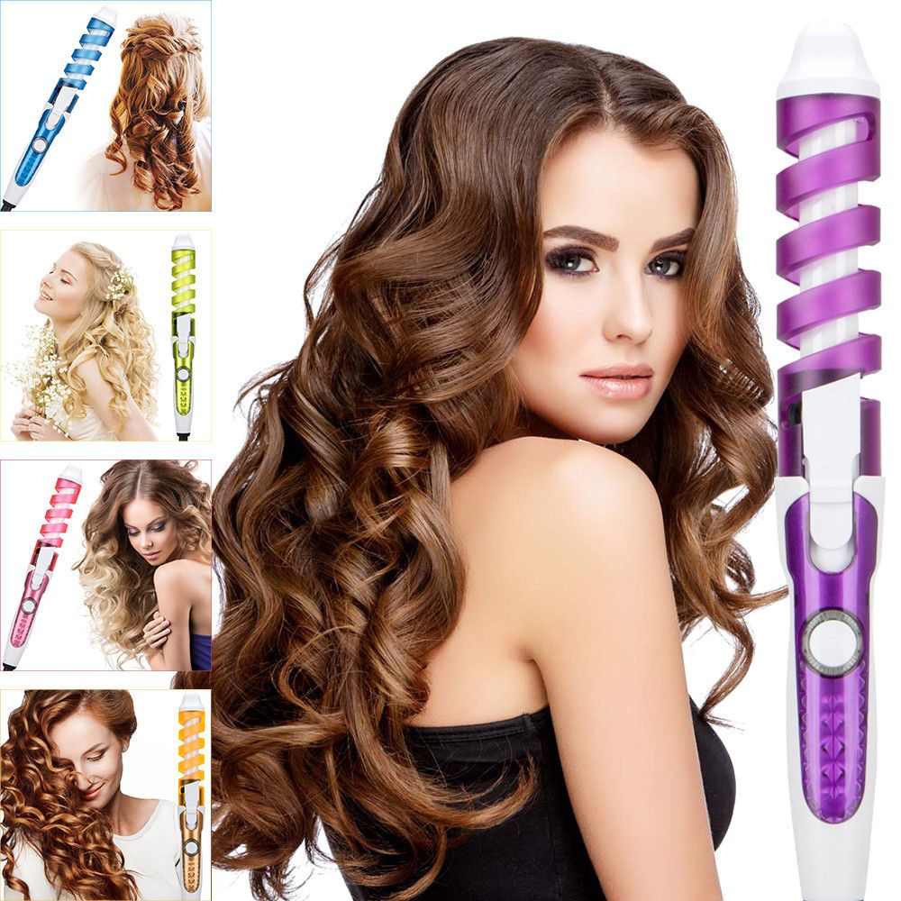 2018 Professional Electric Magic Hair Styling Tool Rizador Curler Roller Unbranded Hair Styles Hair Curlers Hair Styler
