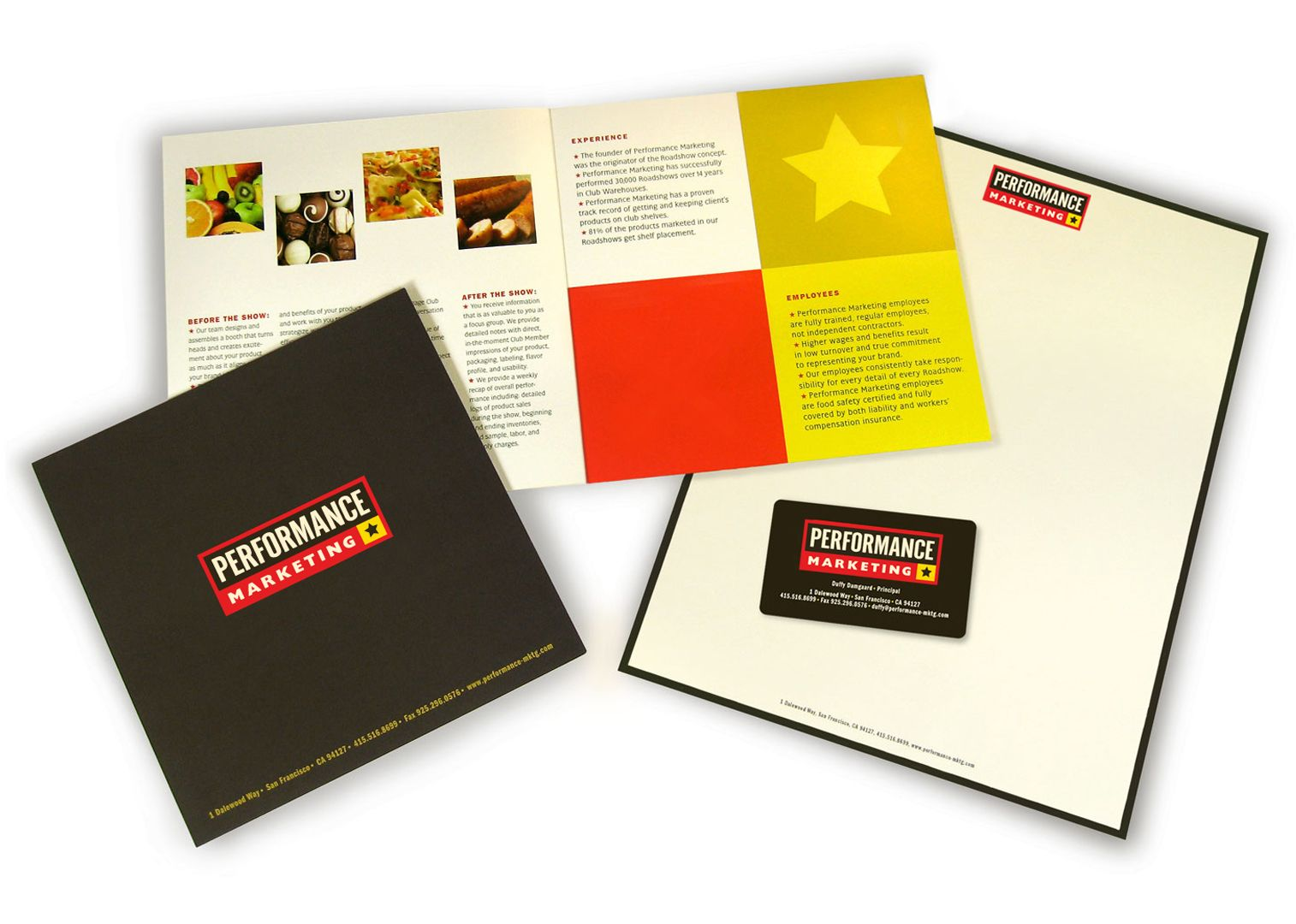 Performance Marketing Brochure  Mg Design Collateral