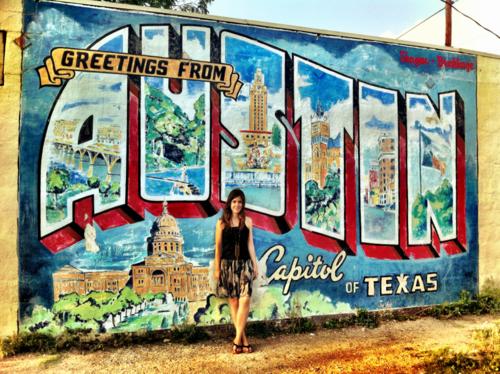 Austin Tx Wall Murals Galore Best Instagram Spots Tiffanie Anne Blog Wall Murals Mural Instagram Wall