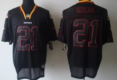 check out 18ae1 dc973 ... reduced nike washington redskins 21 sean taylor lights out black elite  jersey d9eda e3a60