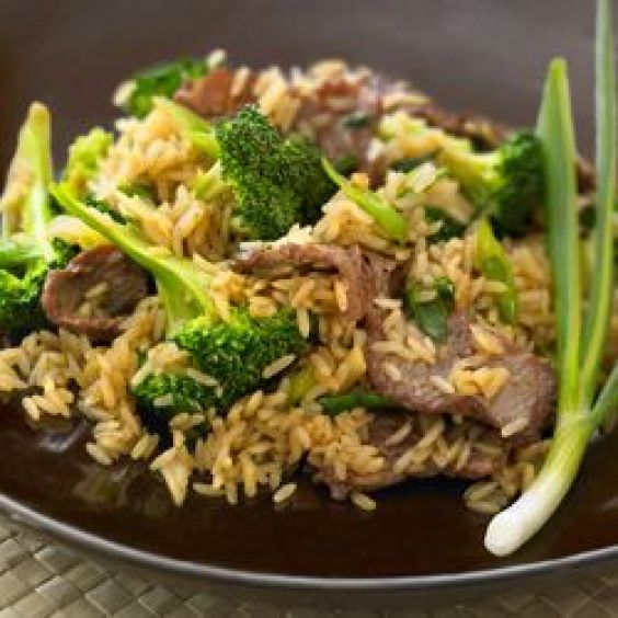 Beef and Broccoli Stir Fry with Whole Grain Brown Rice Recipe  just made this for dinner and everyone loved it Simple recipe with lots of unexpected flavor