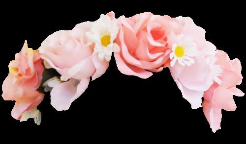 Transparent Flowers Transparent Flowers Snapchat Flower Crown Emoji Flower