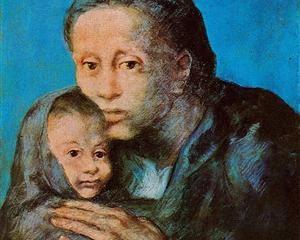 madre Picasso 1903