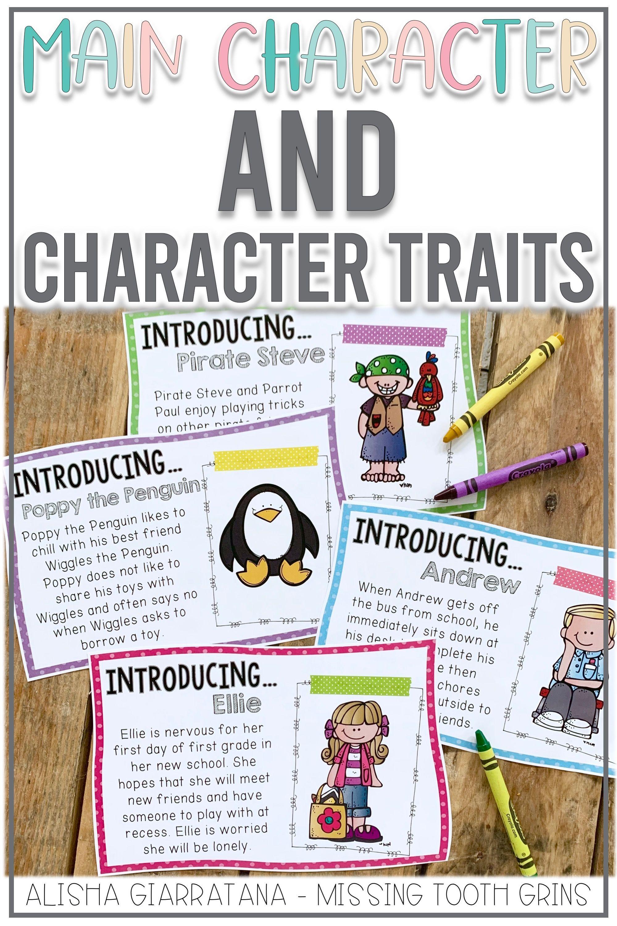 Character Traits Reading Unit