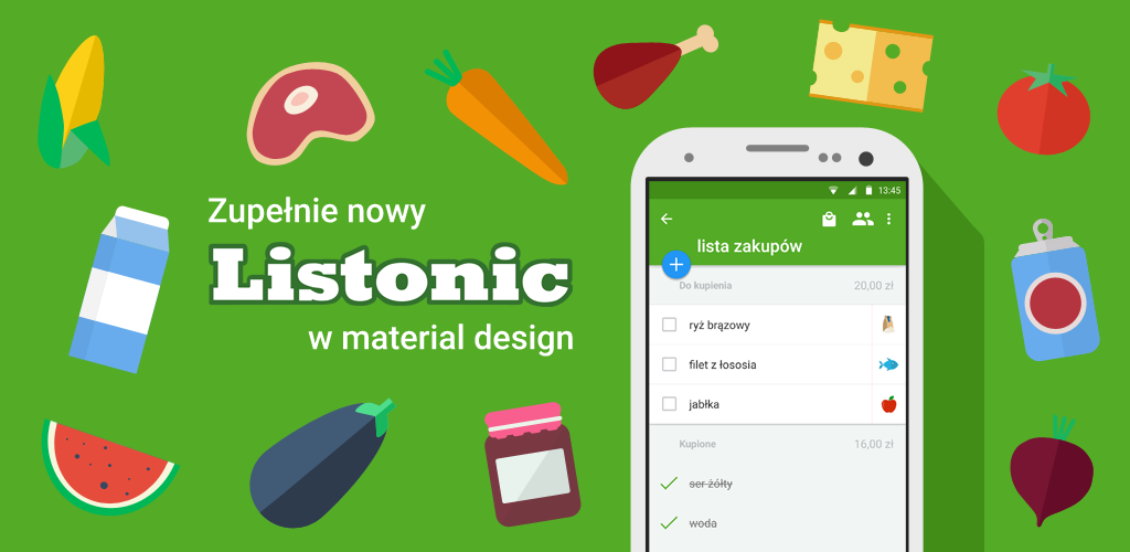 New Material Design app. android googleplay makeover