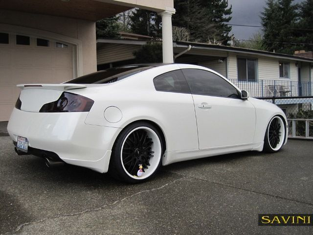 White Infiniti G35 Coupe Custom Image 86 Car Tuning Infiniti Custom Cars Dream Cars